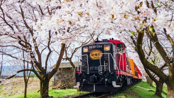 【【京都嵐山半日遊】嵯峨野嵐山小火車、京馬車、保津川遊船