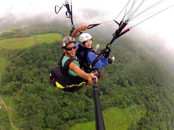 【【韓國三大滑翔傘勝地】京畿道楊平 Paralove 滑翔傘體驗(雙人飛行)