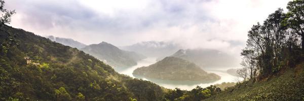 【【台灣千島湖秘境】石碇千島湖、八卦茶園、石碇老街一日遊