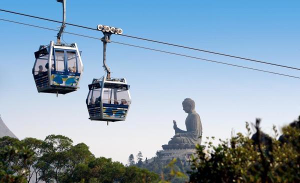 【【來大嶼山看大佛】香港昂坪 360 纜車門票