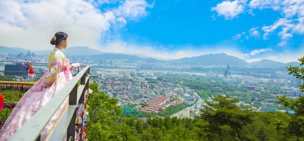 【【首爾特色行程】南山首爾塔韓服文化體驗