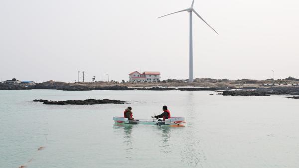 【【我的超人爸爸拍攝地】濟州島月汀里透明獨木舟體驗