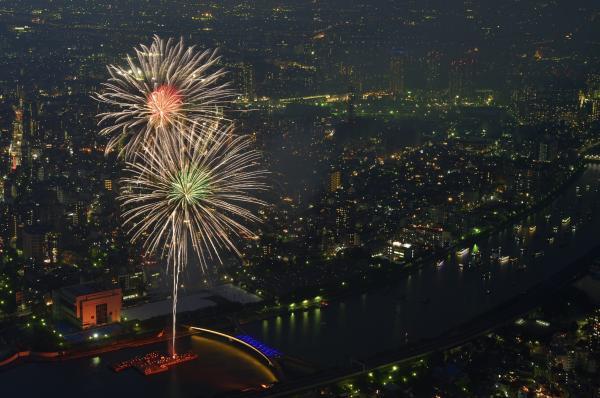【【2019 隅田川花火大會】東京晴空塔 TOKYO SKYTREE 特別觀賞席套票