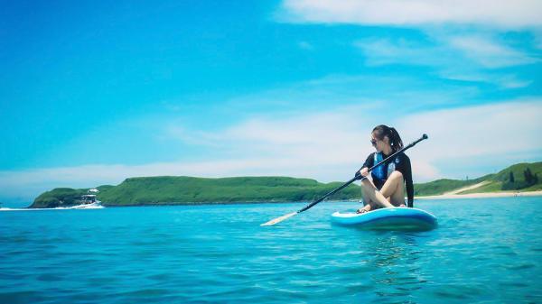 【【澎湖水上活動】SUP 立式單槳衝浪板體驗