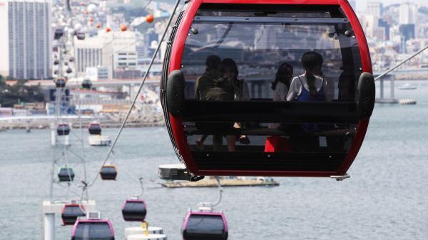 【【盡覽釜山海景】松島海上纜車來回門票(一般 \/ 水晶車廂)