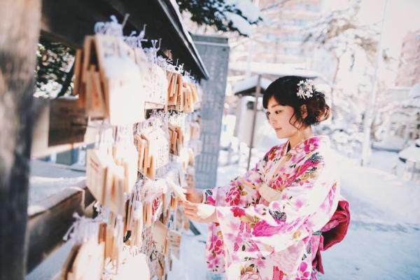 【【北海道和服體驗】 札幌美月櫻和服租借體驗
