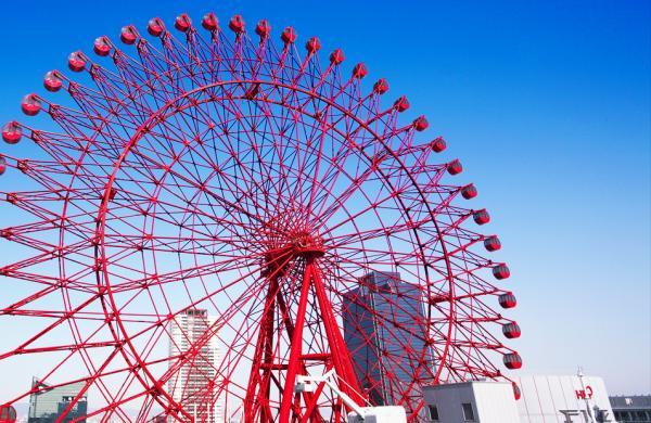 【【大阪必去景點】梅田 HEP FIVE 摩天輪門票