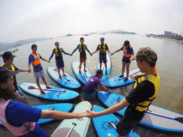 【【香港西貢半島】初級直立板課程體驗