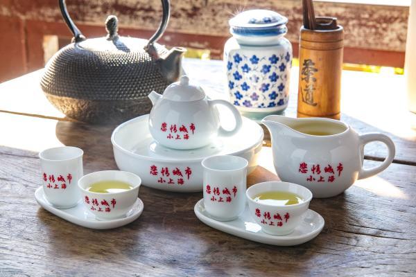 【【九份茶旅】懷舊茶樓—悲情城市:翠玉烏龍茶+招牌茶點套餐
