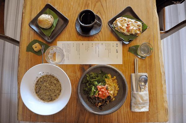 【【黃金山城水湳洞】食味記憶-山城美館食堂:藝術入餐+神秘招待品