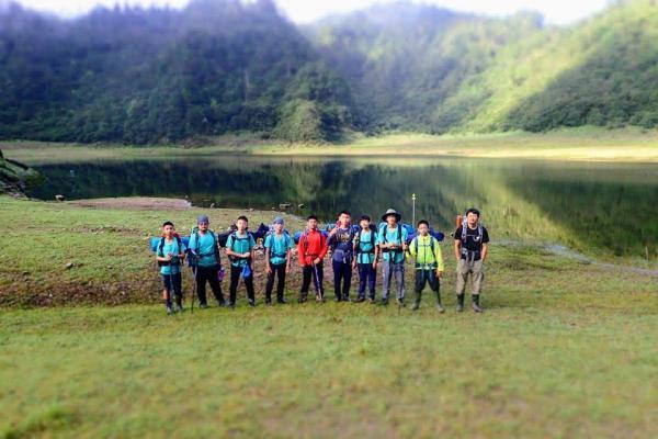 【【登山探訪十七歲少女湖】宜蘭松蘿湖之旅