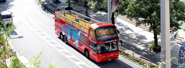 【【新方法逛東京】隨你坐觀光巴士 Sky Hop Bus