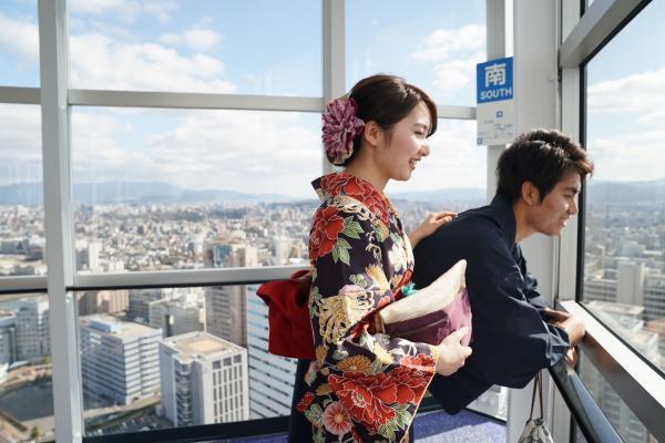 【【福岡和服體驗】HANEYA和服體驗(加贈福岡塔門票)