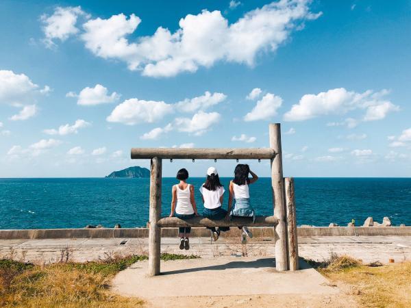 【【北海岸熱門打卡景點】台北九份、陰陽海、象鼻岩、八斗子月台、潮境公園包車一日遊