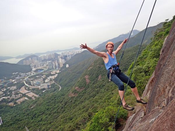 【【香港獨特體驗】香港Black Crag・攀岩體驗