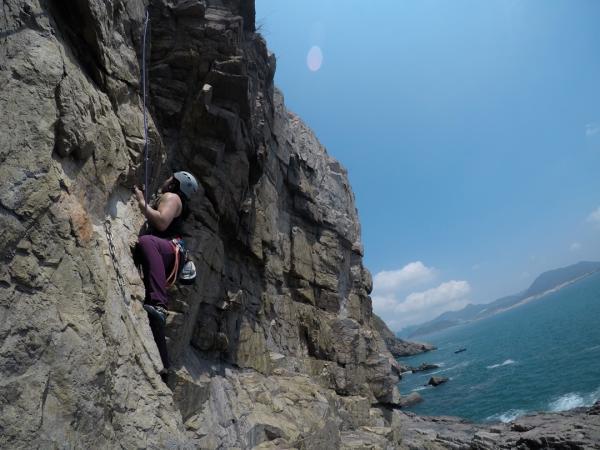 【【香港獨特體驗】香港Cape Collinson黑角頭・攀岩體驗