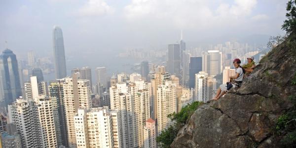 【【香港獨特體驗】香港Central Crag・攀岩體驗