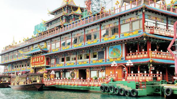 【【全世界最大水上餐廳 】香港珍寶王國海鮮舫・餐券