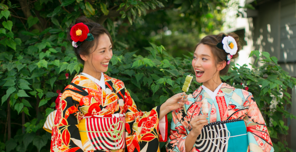 【【原宿和服體驗】祭by first-藝人日劇愛用和服出租