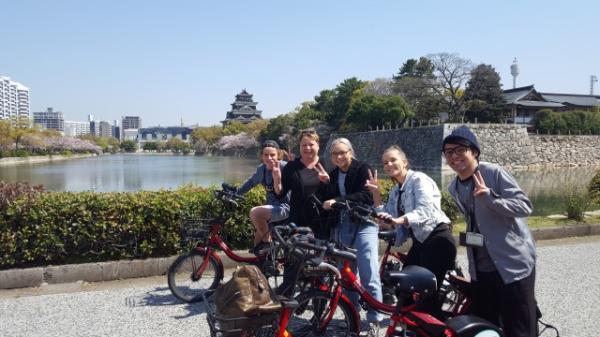 【【廣島市區半日遊】自行車和平巡禮