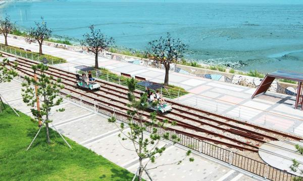 【【仁川人氣賞櫻景點】永宗島鐵路自行車+月尾島+松月童話村+自由公園一日遊