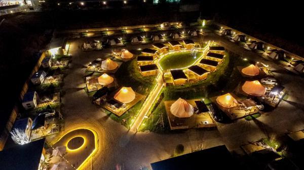 【【日本高級GLAMPING露營】京都GRAX高級露營區2天1夜露營體驗