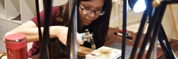 【【金工手作體驗】台北迪化街銀飾手作課程
