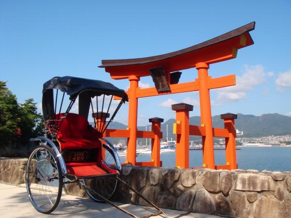 【【人力車體驗】宮島遊覽紅葉谷公園・參拜大聖院、嚴島神社