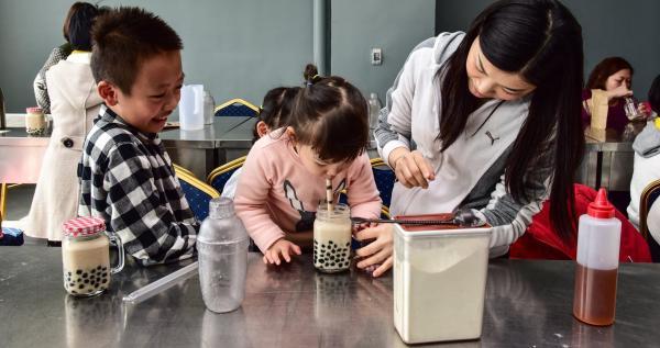 【【全球首創珍奶文化館】宜蘭奇麗灣・珍珠奶茶手搖DIY體驗