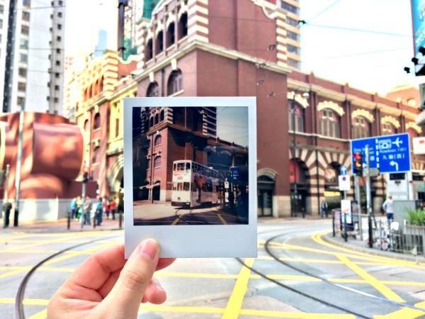 【【深度香港之旅】Polaroid寶麗萊底片相機街頭攝影體驗