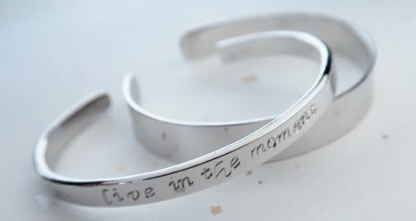 【【台灣六四設計銀飾手作】秘語純銀手環一日銀匠體驗