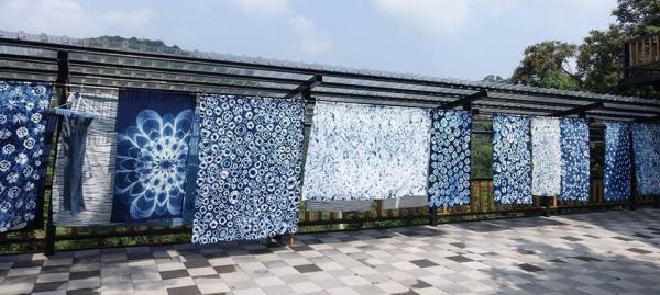 【【台灣苗栗特色體驗】卓也小屋・藍染方巾體驗+下午茶套餐