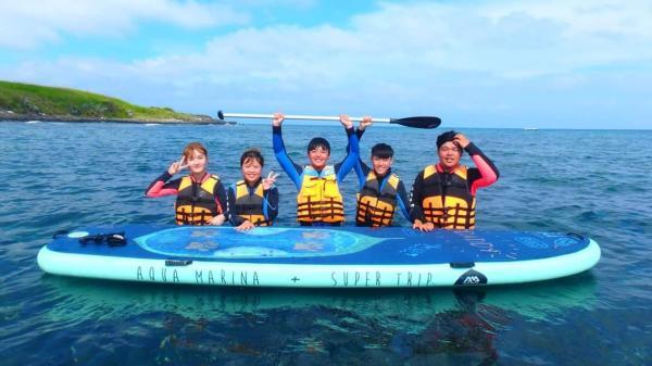 【【澎湖水上活動】浮潛+SUP 立式單槳衝浪板體驗