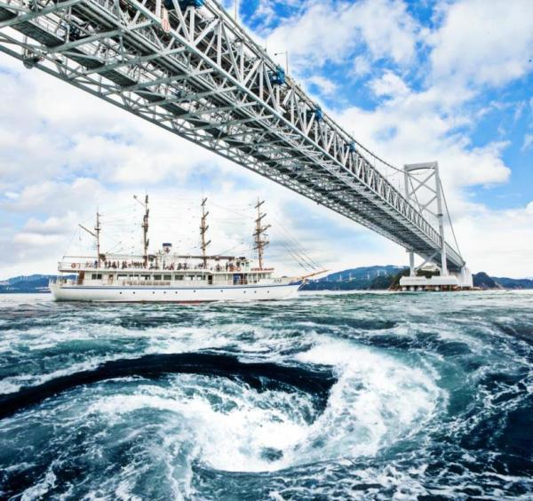 【【大阪巴士一日遊】淡路島、瀨戶內海鳴門漩渦遊覽船