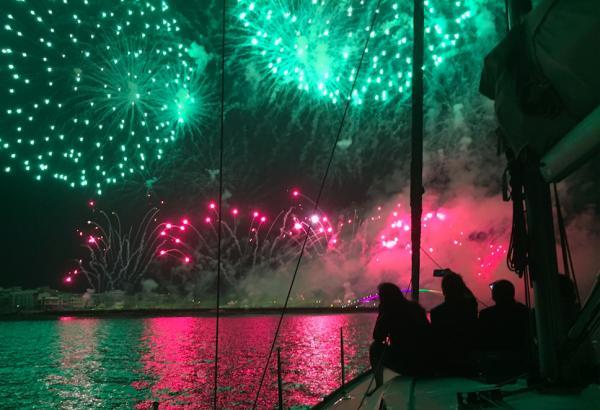 【【澎湖花火節限定】澎湖帆船賞花火享晚餐