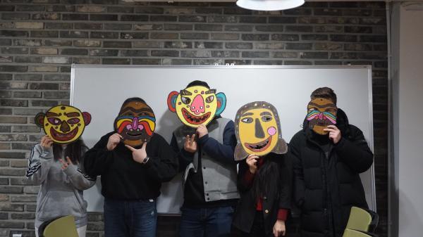 【【首爾傳統手作】SHAREUS 韓國傳統面具 DIY 製作體驗