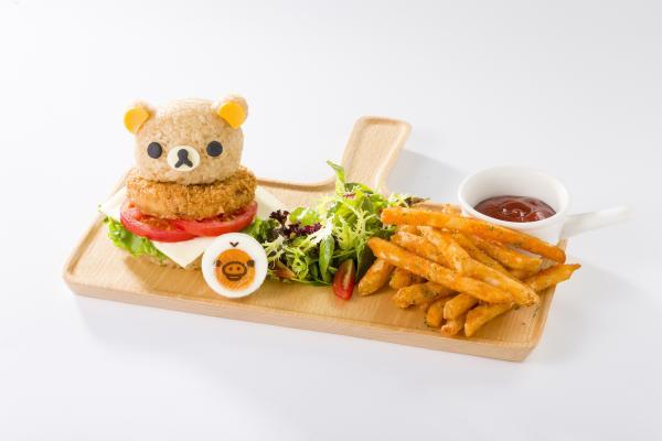 【【台灣特色餐廳】Rilakkuma Café 拉拉熊咖啡廳
