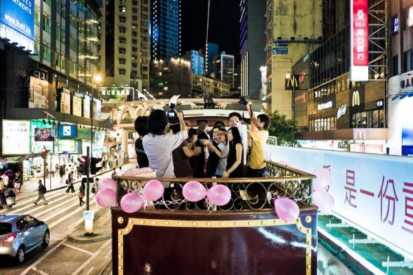 【【重回舊日風情】香港派對電車狂歡