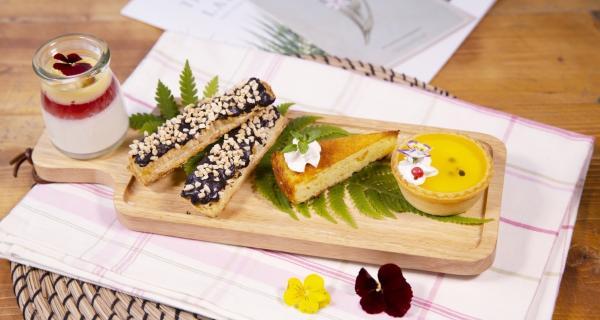 【【台灣美食美景】薰衣草森林・森林午宴 \/ 森林雙人午茶饗宴