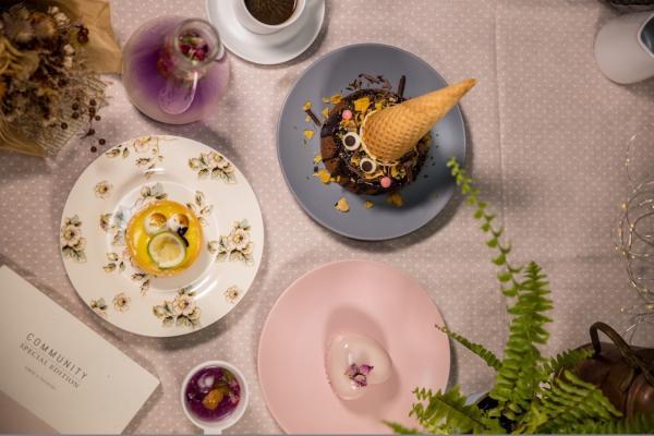 【【台中美食美景】心之芳庭・南法午宴 \/ 南法浪漫午茶約會