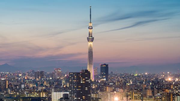 【【官方授權】TOKYO SKYTREE®晴空塔展望台+折紙清真和食餐廳
