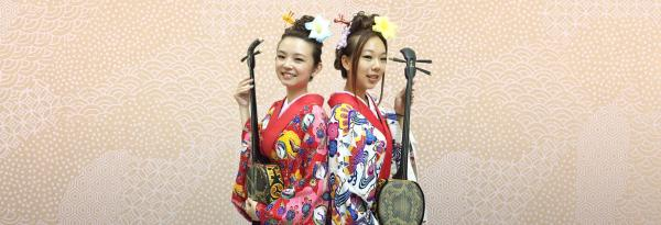 【【沖繩琉裝體驗】琉裝スタジオ ちゅら 美人琉球民族服裝體驗