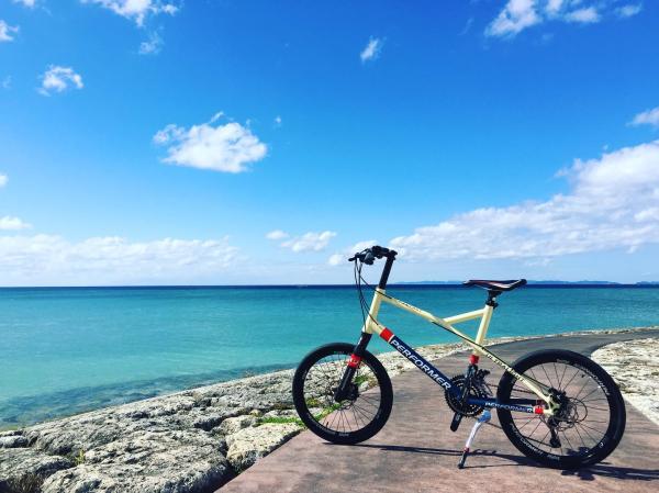 【【沖繩腳踏車租賃】夏日最漾!騎單車飽覽沖繩海景