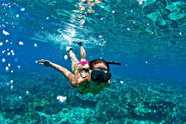 【【沖繩水上活動】浮潛、拖曳傘、水上摩托車