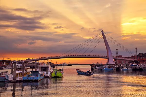 【【台北一日遊】陽明山賞花、淡水賞夕陽、漁人碼頭、紅毛城