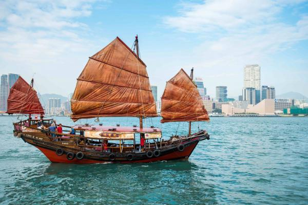【【香港獨有中式帆船】香港鴨靈號遊維多利亞港船票