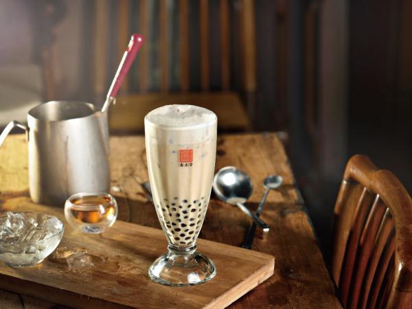 【【台中珍珠奶茶】春水堂珍珠奶茶 DIY 手搖體驗