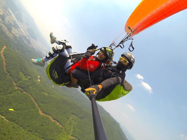 【【翱翔京畿道】韓國龍仁市Songgolmae滑翔傘體驗