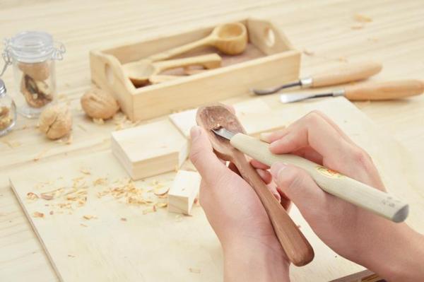 【【木匠兄妹手作體驗】親手製作屬於自己的檜木湯匙