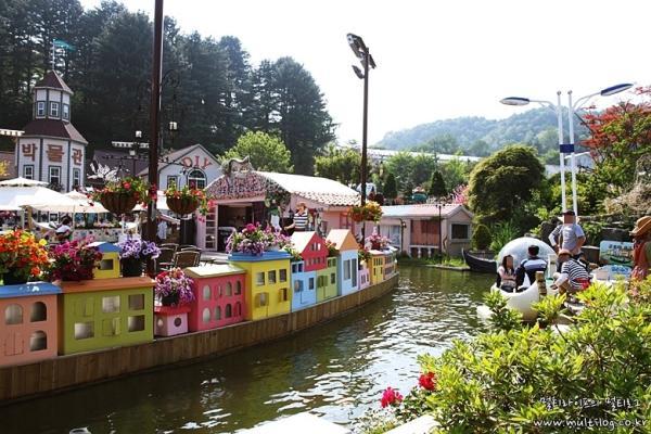 【【韓國抱川一日遊】 夏日限定藍莓消暑刨冰、Art Valley、香草島樂園晚燈節、山楂酒莊(首爾出發)
